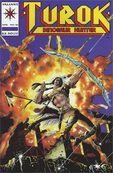 1994 Turok Dinosaur Hunter No. 10