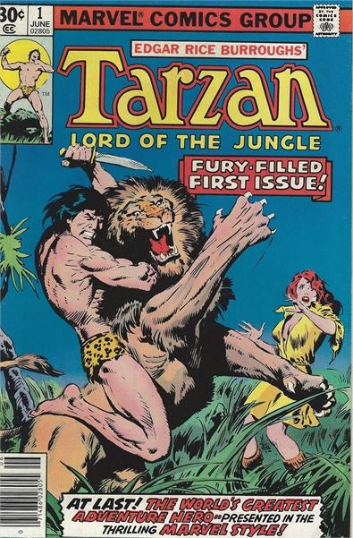 Tarzan (1977 Marvel) #1 - Collectible Comics Bronze Age