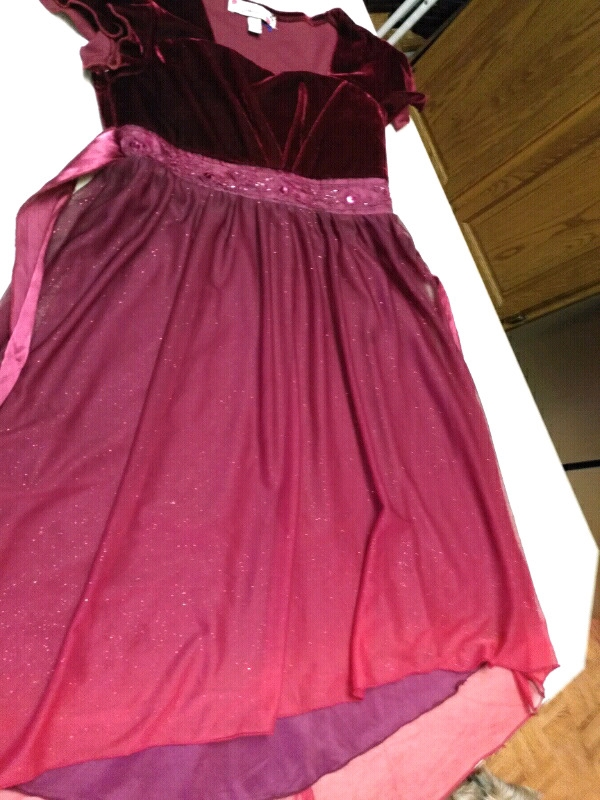 Elegant Formal Party Dress!  Size 10. GORGEOUS..NEW CONDITION, MUST BE SEEN!