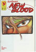 Elfquest New Blood (1992) #21 VF/NM  Scan is of actual Comic!  This comic is 25 years old!