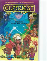 Elfquest Seige at Blue Mountain (1987) #1 VF/NM  Scan is of actual Comic!