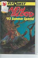 Elfquest Blood Summer Special (1993) #1 VF/NM  Scan is of actual Comic!  This comic is 24 years old!