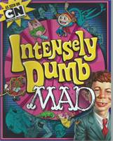 Intensely Dumb MAD (Paperback) by Usual Gang of Idiots (Author) Scan is of actual Comic!  Very Good