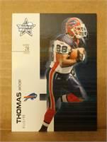 2007 Donruss Leaf Rookies & Stars - Anthony Thomas (Bills) #28 RB - Card #53