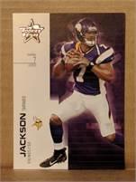 2007 Donruss Leaf Rookies Stars - Tarvaris Jackson Vikings #7 - Card #23
