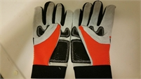 Home Depot Partial Leather Gardening Gloves - BRAND NEW Size small, but fits a bit bigger