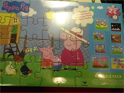 Peppa Pig puzzle... BRAND NEW IN BOX