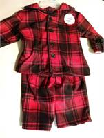 Soft, Comfortable and Cozy Warm!  Brand New Baby Boy Pamama's.  Fits 0 to 3 Months!