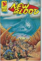 Elfquest New Blood (1992) #25 VF/NM  Scan is of actual Comic!  This comic is 25 years old!