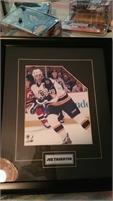 Joe Thornton beautifull framed, from Boston Bruins. HAWKWOOD location
