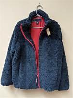 Ladies Extra Large Tommy Hilfiger Sherpa Flag Jacket.  NWOT #25060521-1757