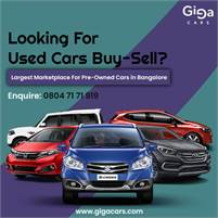 Second Hand Cars In Bangalore – Gigacars