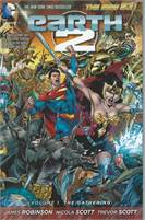 Earth 2 Vol. 1: The Gathering (The New 52) (Paperback)  Scan is of actual Comic!  VF/NM Unread!