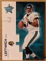 2007 Donruss Leaf Rookies & Stars - Byron Leftwich (Jaguars) #7 QB - Card #84