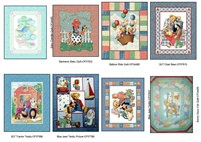 Baby Themed Cotton Panels - fabric - - make a quilt or wall hanging