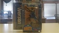 McFarlane Toys NBA Sports Picks Series 12 Action Figure Allen Iverson 2 (Denver Nuggets) Blue Jersey