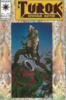 1993 Vallant Comic Book No. 1 Turok Dinosaur Hunter Foil Cover!!!