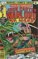 John Carter Warlord of Mars (1977 Marvel) September #4 Collectible Comic - Bronze Age