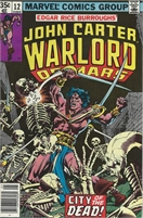 John Carter Warlord of Mars (1977 Marvel) November #12 Collectible Comic - Bronze Age