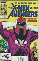 X-Men vs. the Avengers (1987) comic books  Scan is of Actual Comic!