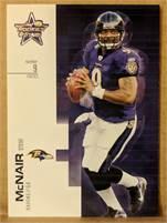 2007 Donruss Leaf Rookies & Stars - Steve McNair (Ravens) #9 QB - Card #64