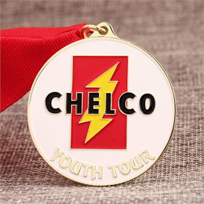 CHELCO Award Medals