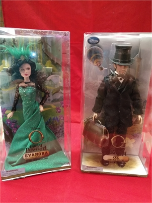 Oz the Great & Evanora Wicked Witch...NEW IN BOXES