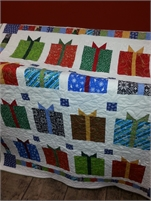 Christmas Gift Quilt! Beat the Rush get this quilt now. Use it as a throw to decorate for the season