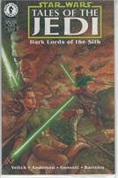 Star Wars : Tales of the Jedi - dark lords of the sith all editions 1-6 all unopened and sealed!