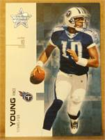 2007 Donruss Leaf Rookies & Stars - Vince Young (titans) #10 QB - Card #87