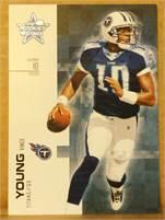 2007 Donruss Leaf Rookies & Stars - Vince Young (titans) #10 QB - Card #87
