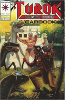 1994 Valiant Turok Dinosaur Hunter Yearbook No. 1