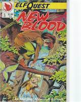 Elfquest New Blood (1992) #5 VF/NM  Scan is of actual Comic!  This comic is 25 years old!