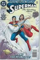 Superman The Wedding Album Over sized comic Dec 1996 DC Comics  Scan is of Actual Comic!