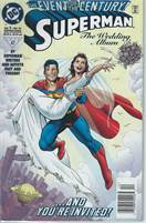 Superman The Wedding Album Over sized comic Dec 1996 DC Comics  Scan is of Actual Comic!