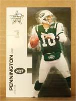 2007 Donruss Leaf Rookies & Stars - Chad Pennington (Jets) #10 QB - Card #61