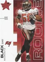 2007 Donruss Leaf Rookies & Stars - Quincy Black (Buccaneers) Rookie LB - Card #604/999