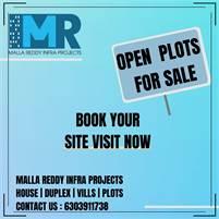 open plots for sale in Kurnool   Malla Reddy Homes