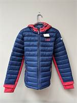 Ladies Tommy Hilfiger Large Packable Hooded Puffer Jacket NWT #37060521-366