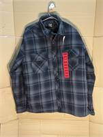 Mens BC Clothing Camping/Hiking Outdoors Flannel Quilted Shirt.  Size Medium. #JIBI20052921-1750