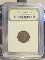1947 Lincoln Wheat Cent with Case!