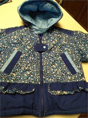 3T Girls winter coat....NEW CONDITION