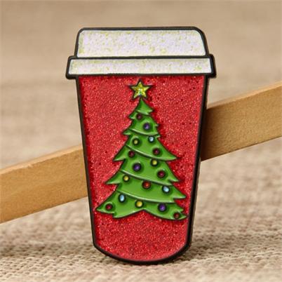 Chirstmas Cup Custom Lapel Pins