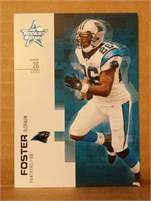 2007 Donruss Leaf Rookies & Stars - DeShaun Foster  (Panthers) #26 RB - Card #30