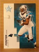 2007 Donruss Leaf Rookies & Stars - DeShaun Foster  (Panthers) #26 RB - Card #30
