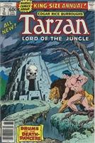 Tarzan (1977 Marvel) Annual #2 - Collectible Comics Bronze Age