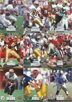 """1995 Classic """"Draft"""" NFL Collectible Trading Cards"""