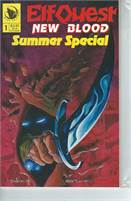 Elfquest Blood Summer Special (1992) #1 VF/NM  Scan is of actual Comic!  This comic is 25 years old!