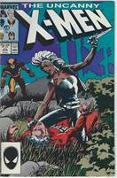 The uncanny x-men comic books issue 216  Scan is of Actual Comic!  Very Good to Fine condition!