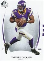 2007 Upper Deck NFL SP Authentic - Tarvaris Jackson (Vikings) #7 QB - Card #86